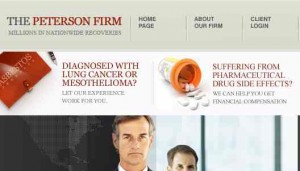 peterson firm funds drugwatch.com
